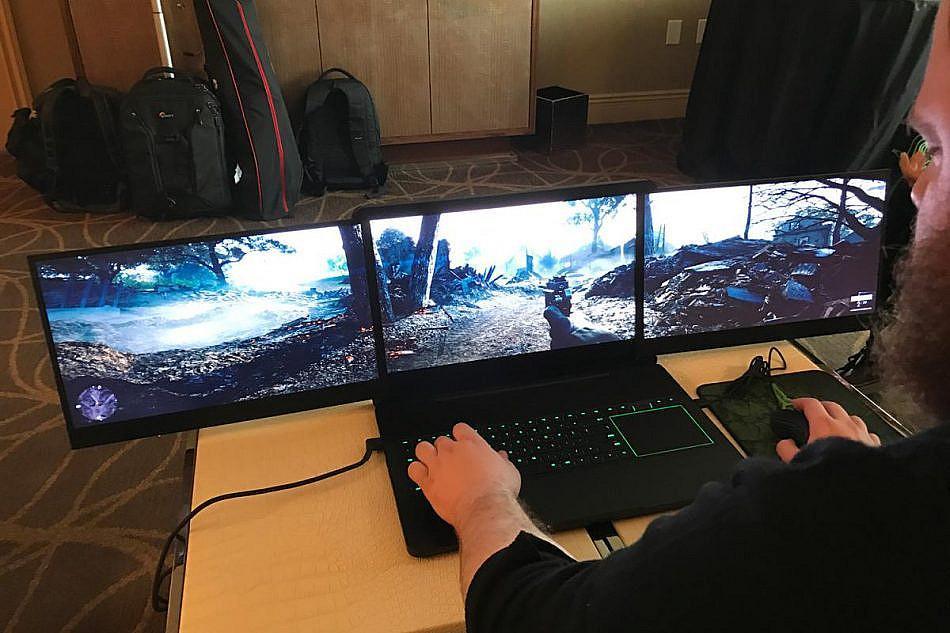 Выбирая игровой ноутбук, следует обращать пристальное внимание на дисплей