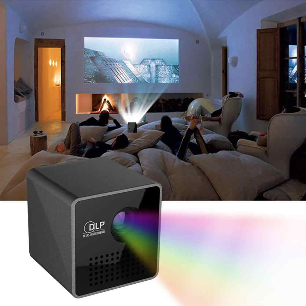 В DLP-проекторах оптическая система обеспечивает высокую контрастность и яркость изображения