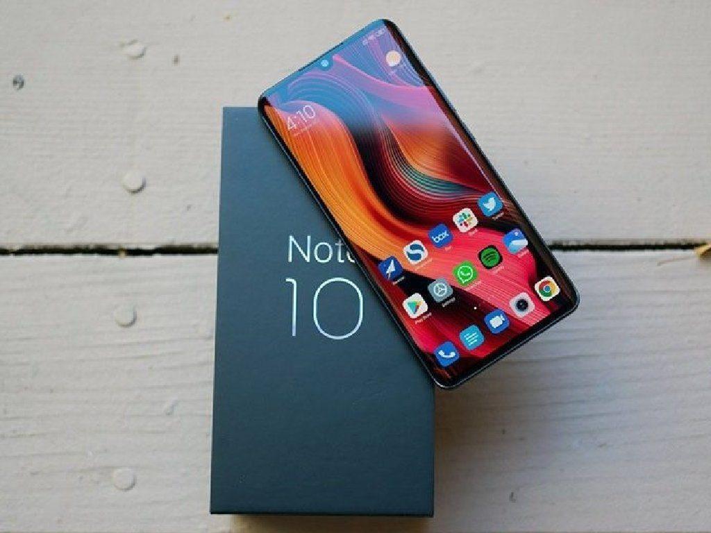 Xiaomi Mi Note 10  - Рейтинг смартфонов 2020 с хорошей камерой