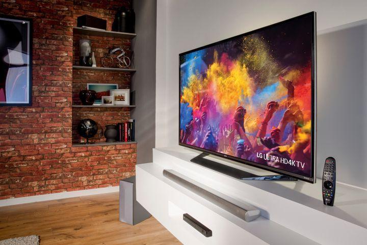 4К телевизор LG