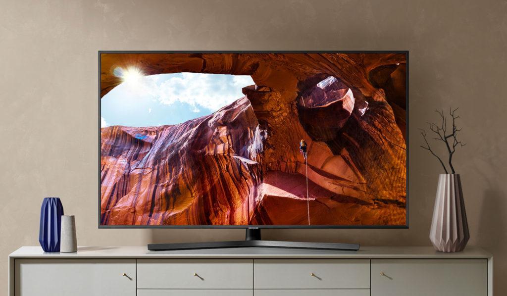 4K Телевизор Samsung UE50RU7470U