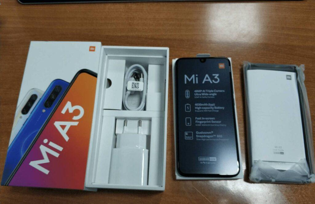 Смартфон Xiaomi Mi A3 4/64GB Android One на Aliexpress