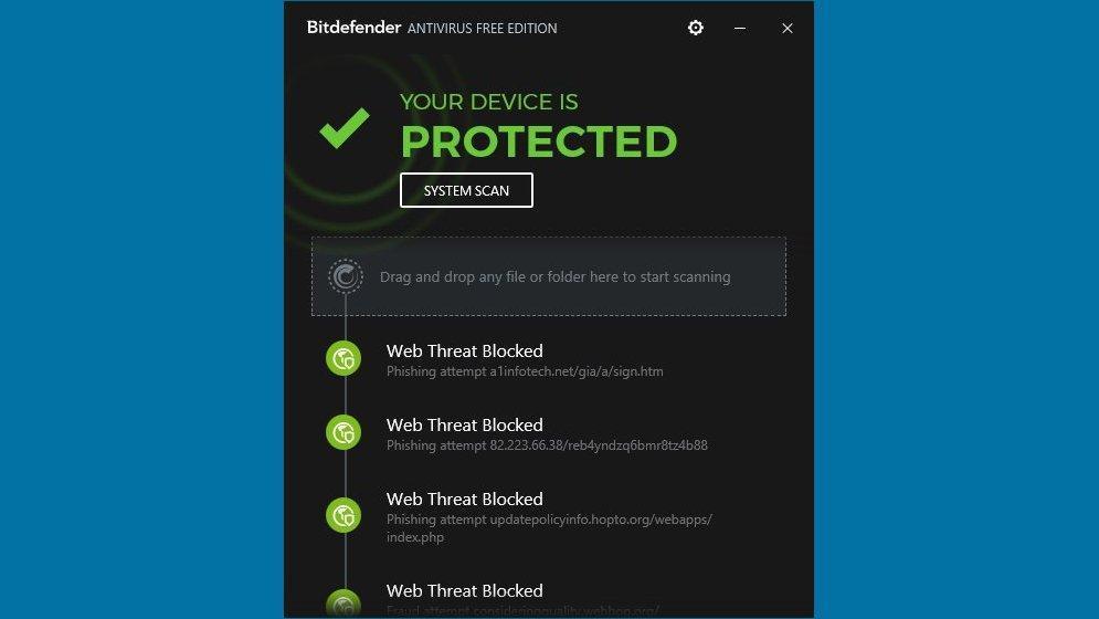 Bitdefender Antivirus Free: лучший базовый антивирус с хорошим «автопилотом»
