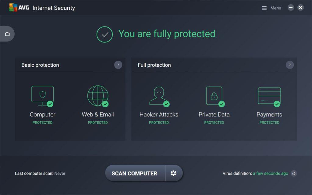 AVG AntiVirus Free: лучший бесплатный антивирус с удобным интерфейсом