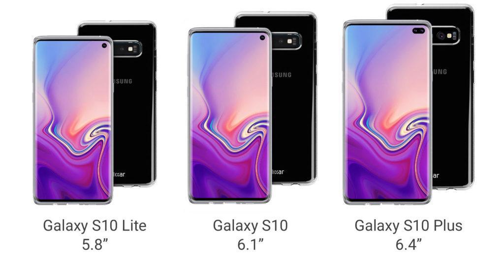 Версии смартфона Samsung Galaxy S10