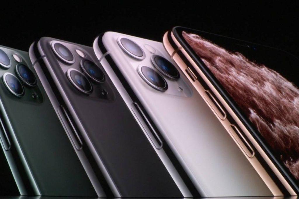 Цвета iPhone 11 Pro