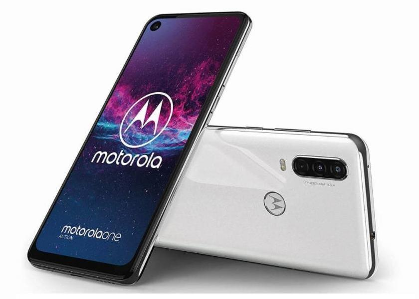 Лучшие смартфоны на Android 2020 Motorola One Action
