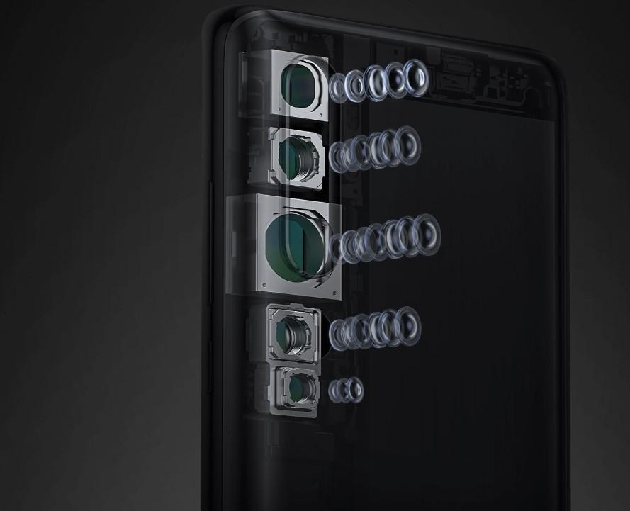 Смартфон Xiaomi Mi Note 10 6/128GB на Aliexpress