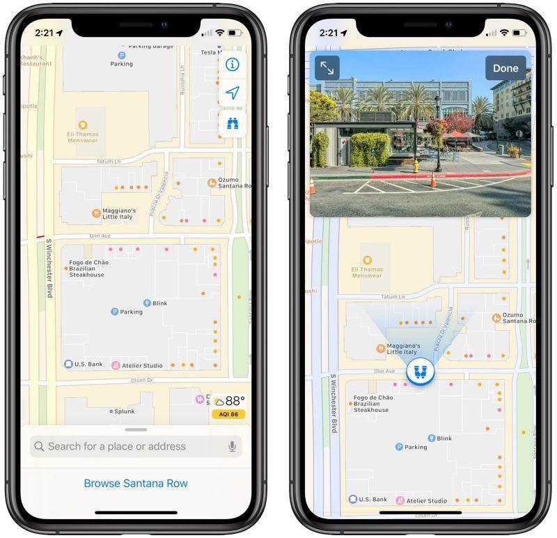 Обновленные карты в iOS 13