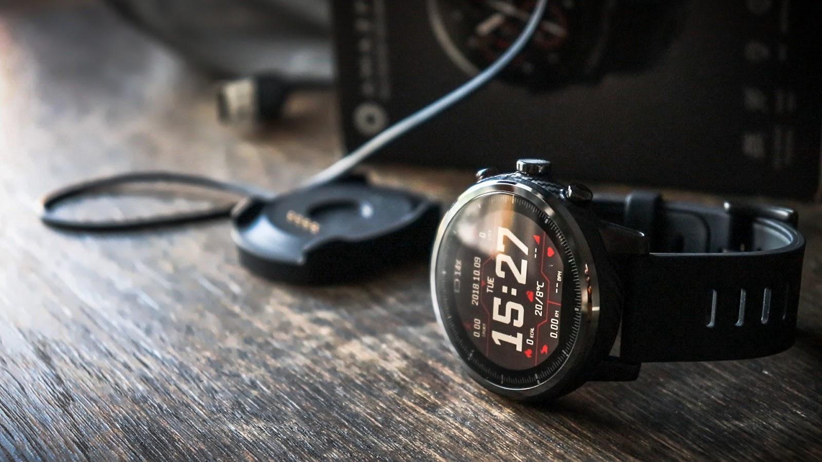 Xiaomi Amazfit Stratos 2 бюджетные смарт часы