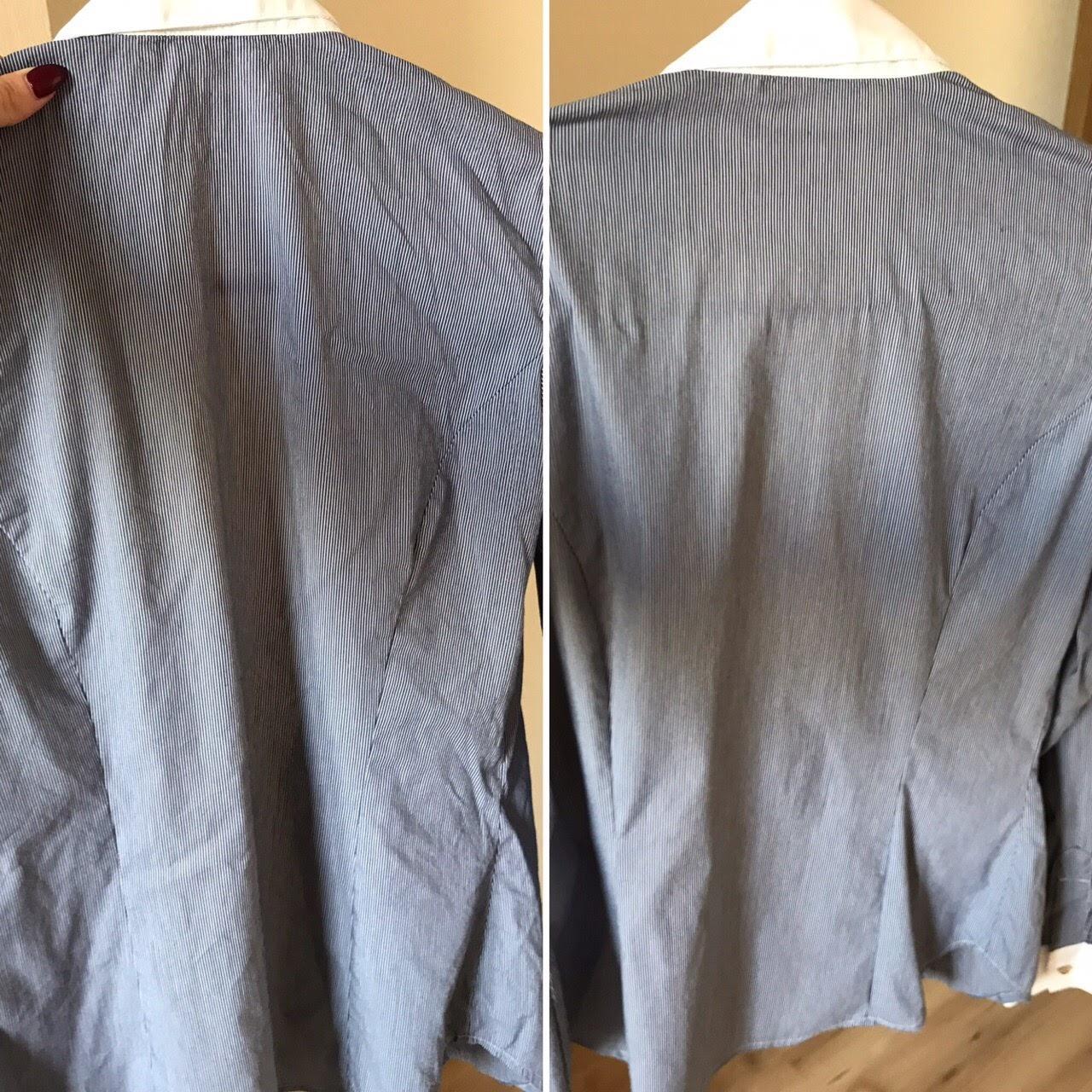 Отпаривание рубашки парогенератором POLARIS PSS 7510K