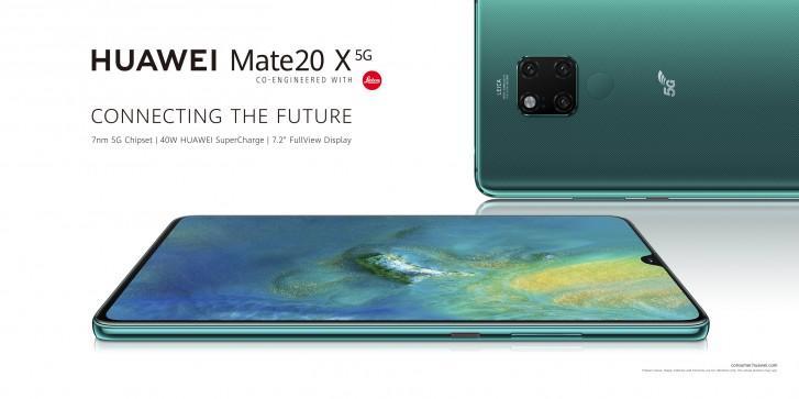 Первые смартфоны 5G Huawei Mate 20 X 5G