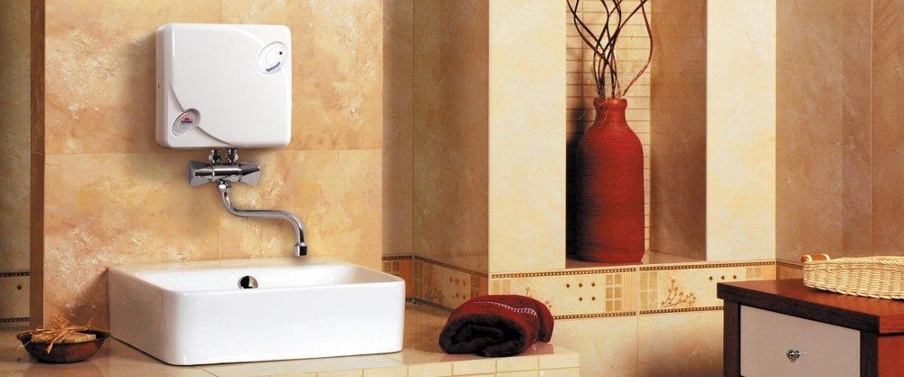 Преимущество проточных водонагревателей —компактность