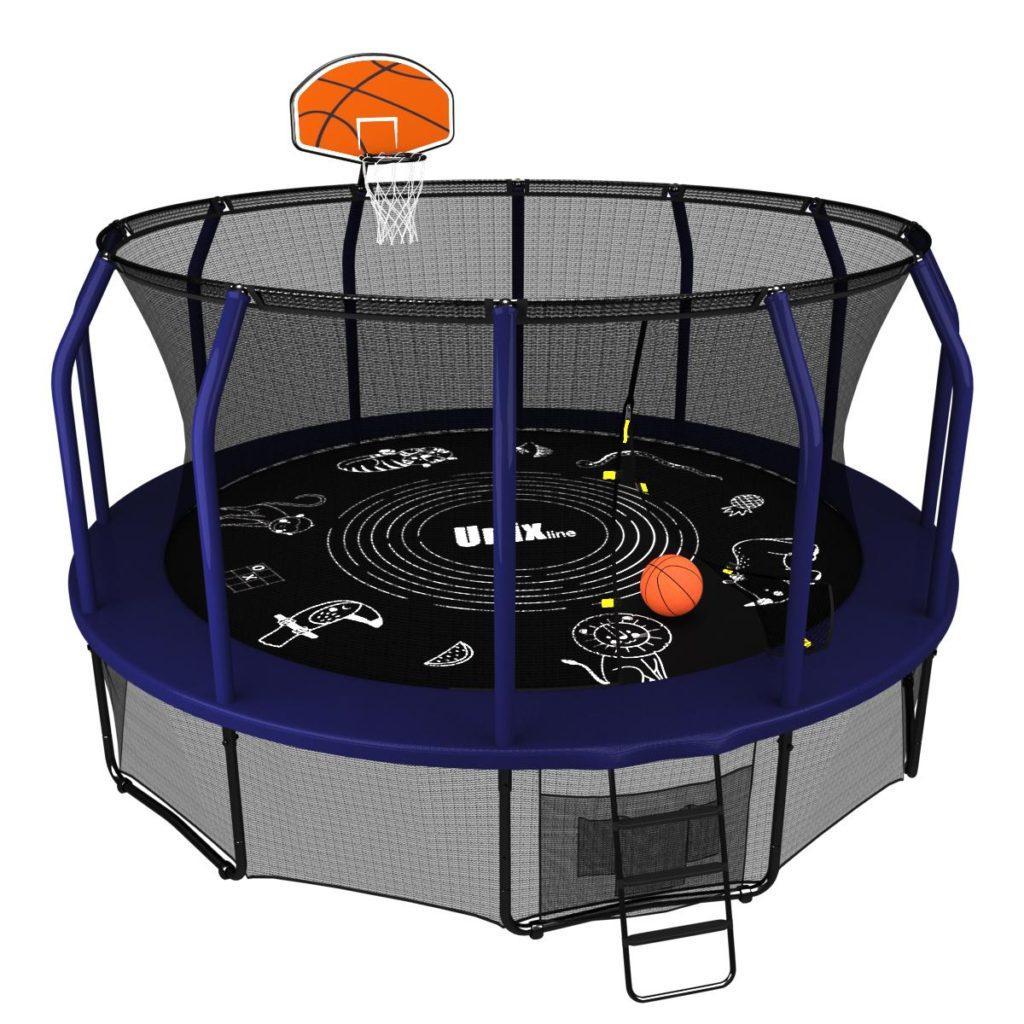 Unix Line 16ft Supreme Game + Basketball