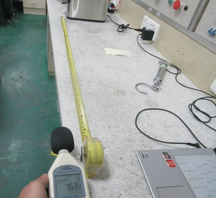 тест на уровень шума