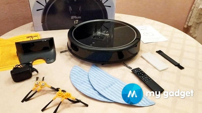 Робот пылесос iPlus i7