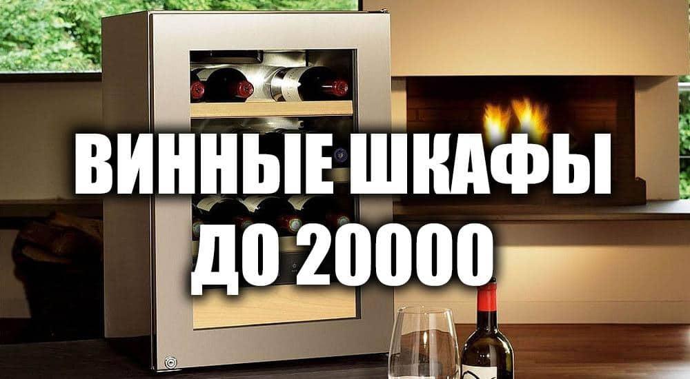 Лучшие винные шкафы до 20000 рублей 2021 года