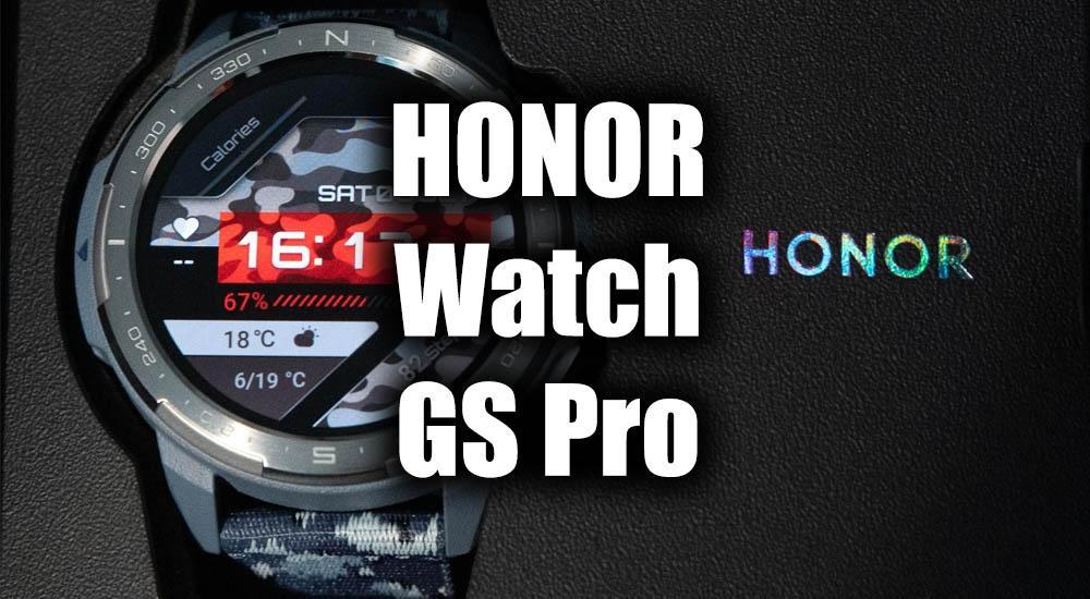 Обзор умных часов HONOR Watch GS Pro