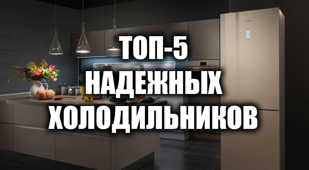 ТОП-5 надежных холодильников 2021